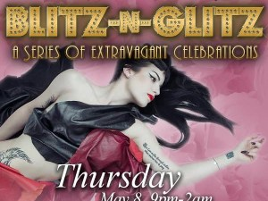 Starlight Room Blitz n Glitz Promo Graphic Design