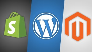 Shopify vs WordPress vs Magento e-commerce solutions