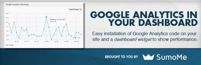 Google Analytics WordPress Plugin by SumoMe