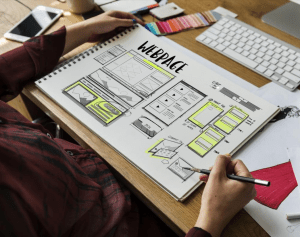 Building an effective website design