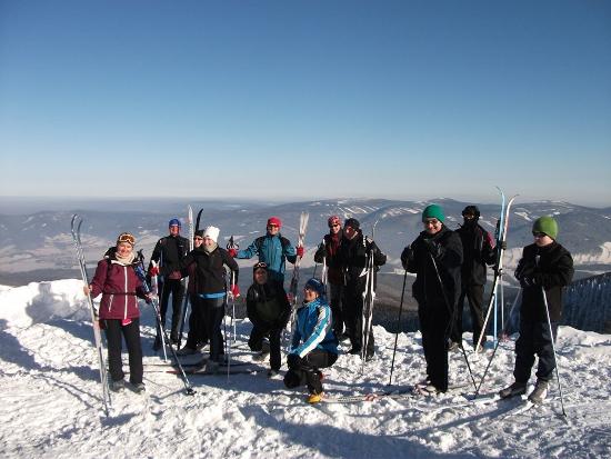 Zimowe szaleństwa aktywnych turystów