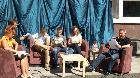 Samorządowcy czytali Trylogię Henryka Sienkiewicza