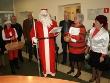 Święty Mikołaj odwiedził starostwo i szpital