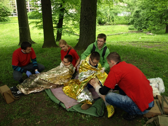 Rejonowe Mistrzostwa Pierwszej PomocyPolskiego Czerwonego Krzyża w Brzegu