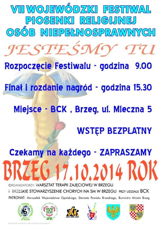 VII Wojewódzki Festiwal Piosenki Religijnej Osób Niepełnosprawnych