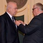 Złoty Krzyż Zasługi dla starosty Stefańskiego