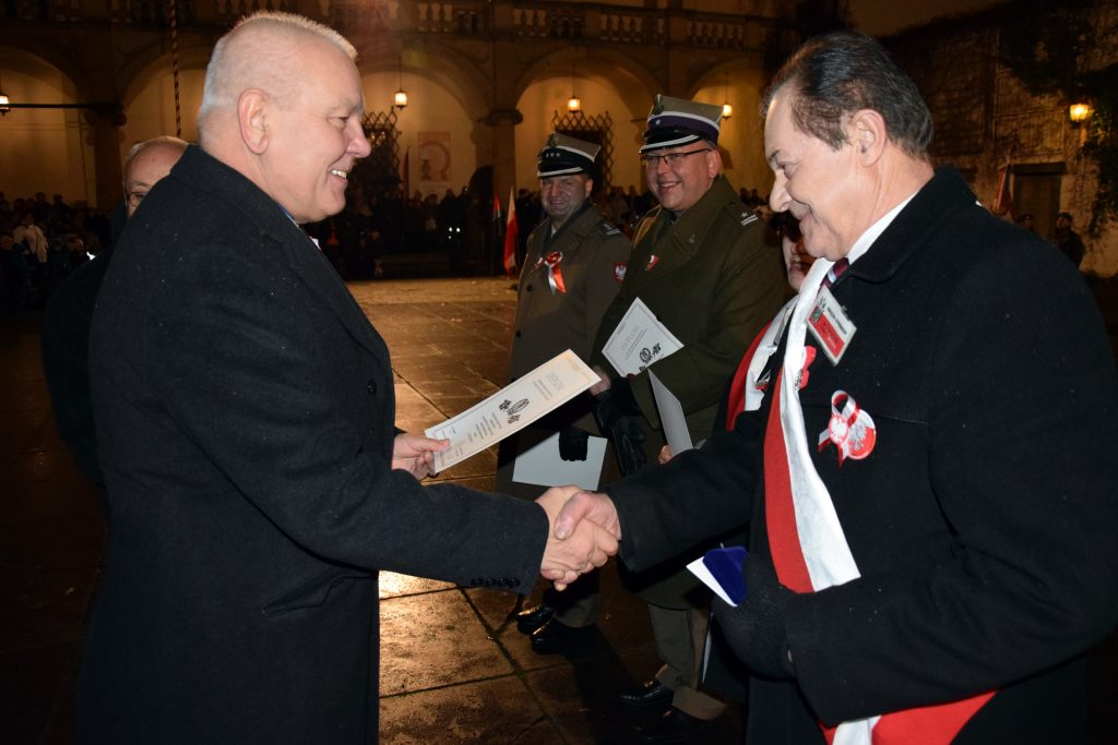 Powiatowe obchody 99. rocznicy odzyskania przez Polskę niepodległości