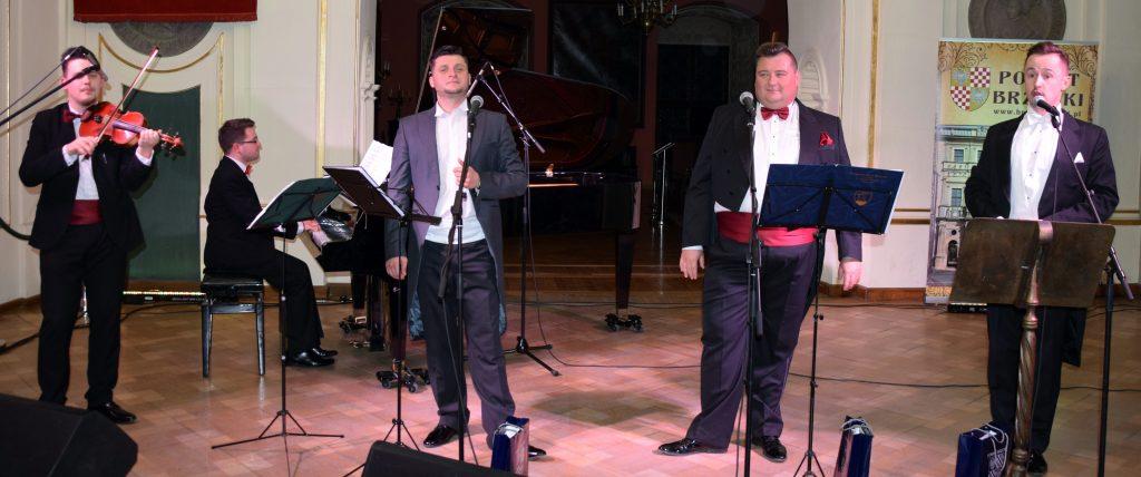 Trzech tenorów na powiatowym koncercie z okazji Dnia Kobiet