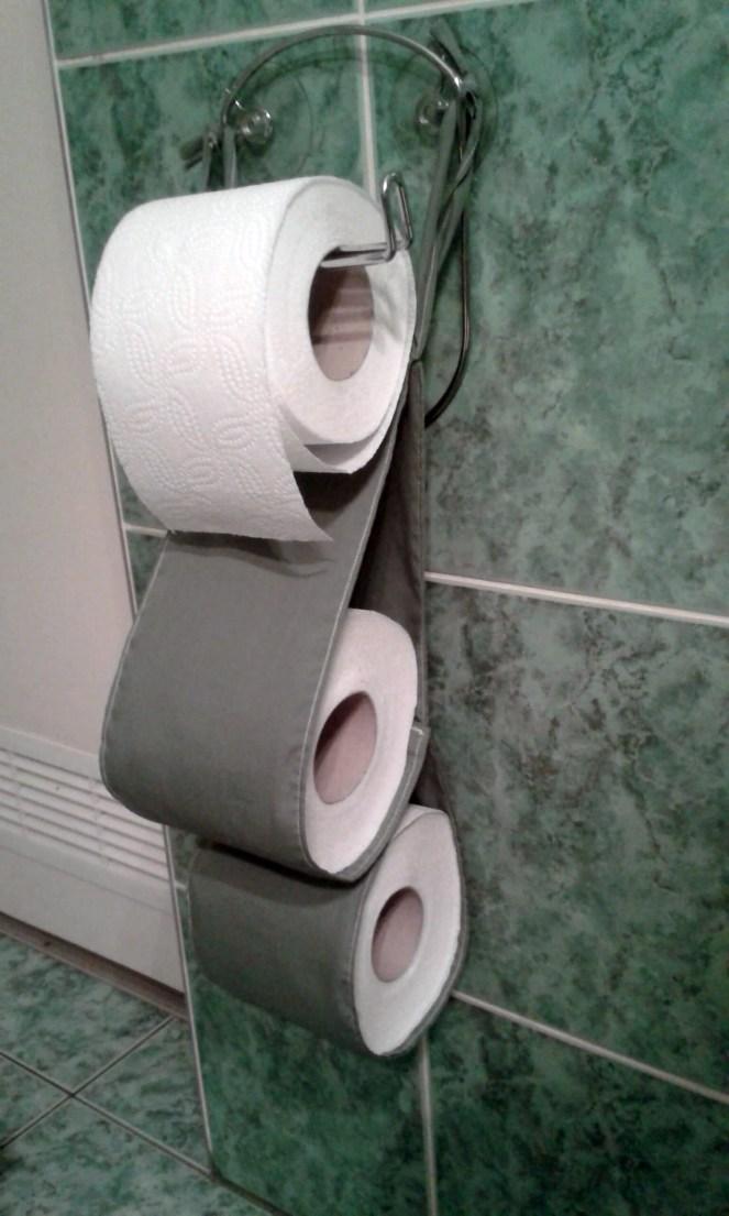 organizer na papier toaletowy