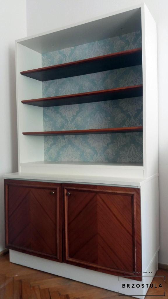 odnawianie drewnianej szafy