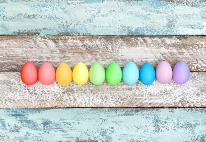 Naturalne kolory jajek