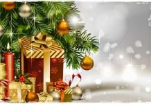 choinka-prezenty-kartka-swiateczna-snieg