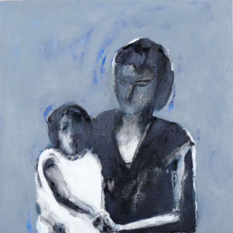 """""""Mutter mit Kind"""" von Marlies Blauth"""