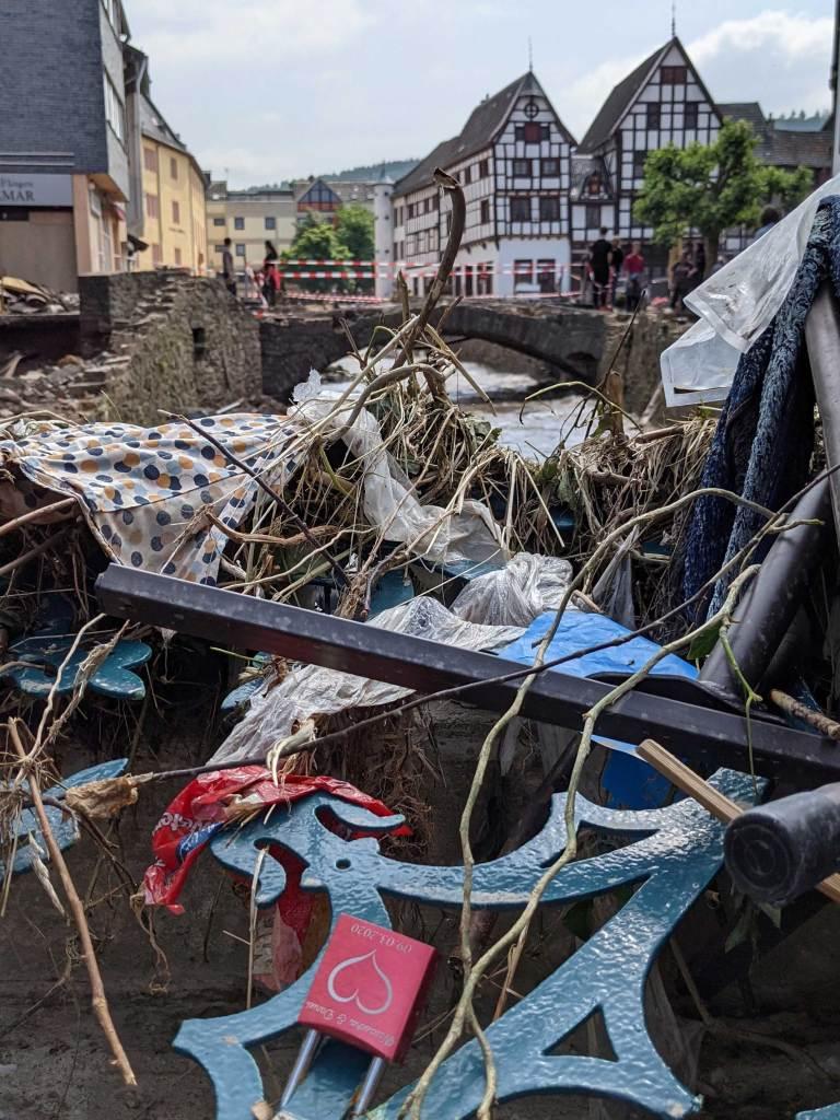 Bad Münstereifel nach der Flut