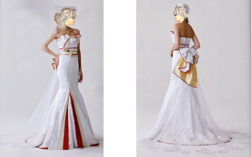 京都でも白無垢ドレスのレンタルが人気
