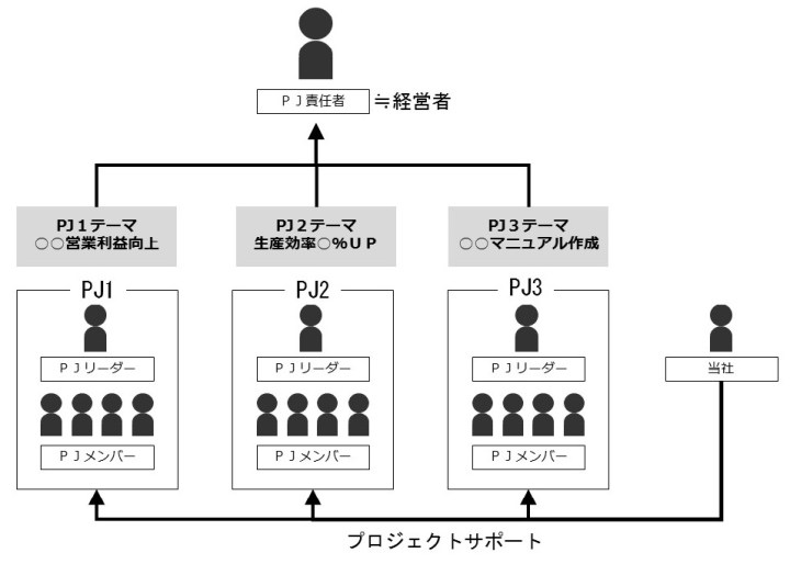 System of organization and human PJ _ver4