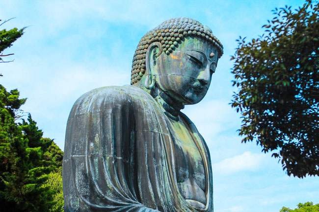 Daibutsu Kamakura Great Buddha from side angle | Unseen Japan