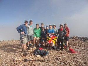 Top of Baldy Mountain. Philmont 2017