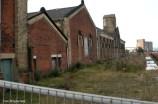 Das Pumpenhaus des Thompsondocks.