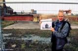 Gestern und Heute: wo das eindrückliche Foto der Olympic entstand, steht heute Claes-Göran Wetterholm.