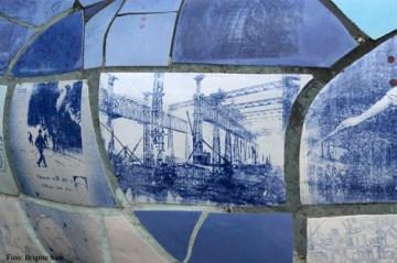 ...und von nah ganz viel Titanic drauf