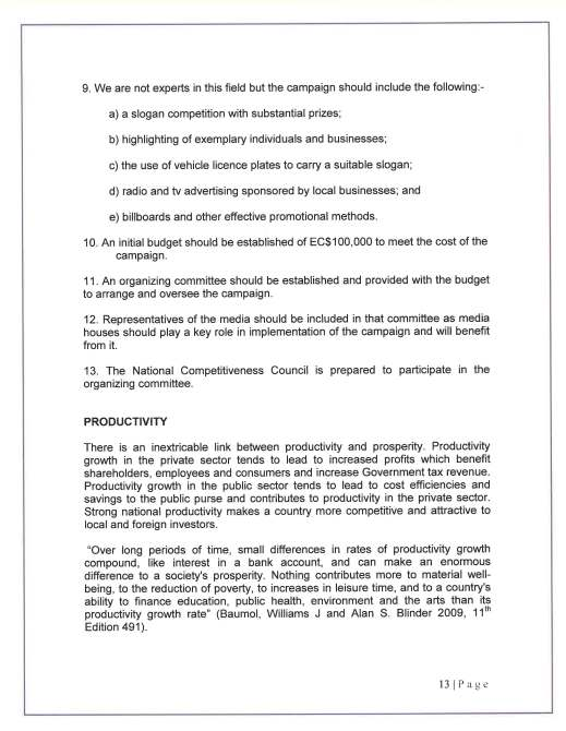 COMPETITIVENESS COUNCIL REPORT 3O SEPTEMBER 2010_Page_14