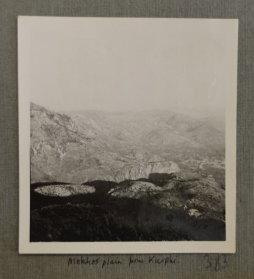 Mochos Plain from Karphi, Jun 1935 (PEN 7/2/6/383). Copyright: British School at Athens