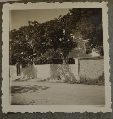 Front of BSA Knossos Taverna, 1935 (PEN 7/2/6/429) Copyright: BSA