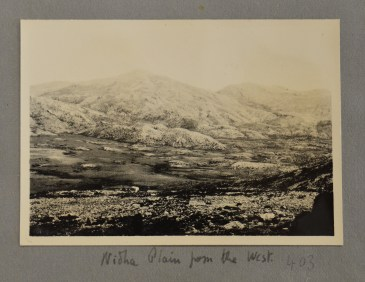 Nida Plateau from near Ideon Cave, May 1932 (PEN 7/2/4/403). Copyright: British School at Athens
