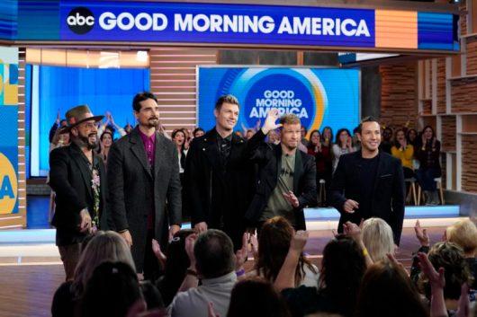 Media: @BackstreetBoys appear on 'Good Morning America'