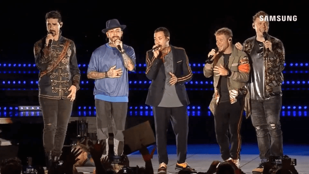 Video: Full @BackstreetBoys DNA World Tour show from Argentina