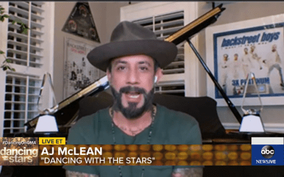 News: It's Official! AJ McLean Joins Season 29 of Dancing with the Stars