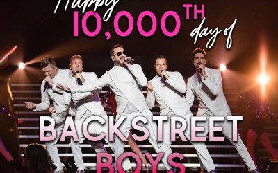 Happy 10,000th day of @BackstreetBoys