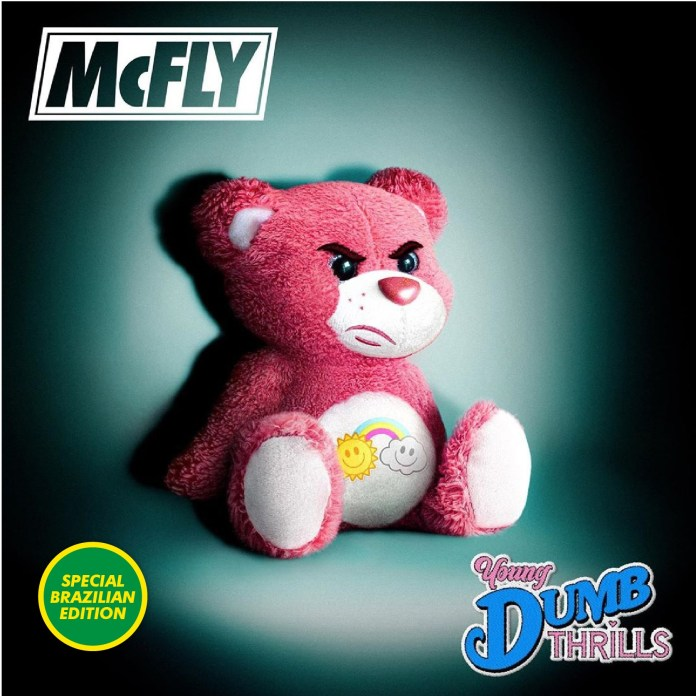 "McFly lança álbum ""Young Dumb Thrills"""