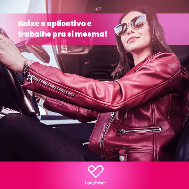 Lady Driver: App de mobilidade voltado para o público feminino chega à Goiânia