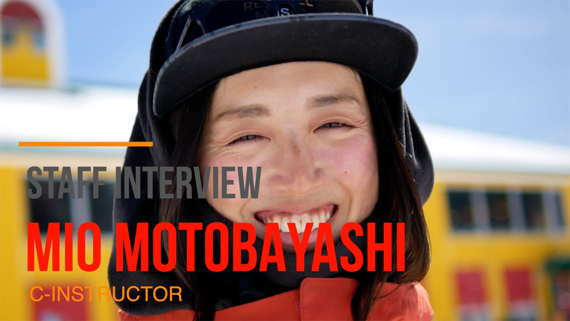 STAFF INTERVIEW [MIO MOTOBAYASHI]