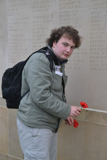 Two brothers. Killed on the someday! Villers Brettoneux Memorial