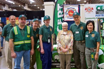 2017 Disaster Preparedness Fair, Supervisor Carole Groom,
