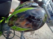 Moto Triciclo Calaveras 02