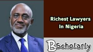 Gbanga Oyebode is one of the best lawyers in Nigeria