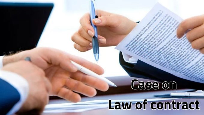 classifications of contract