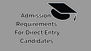 2020 requirements for admission in the University of Lagos