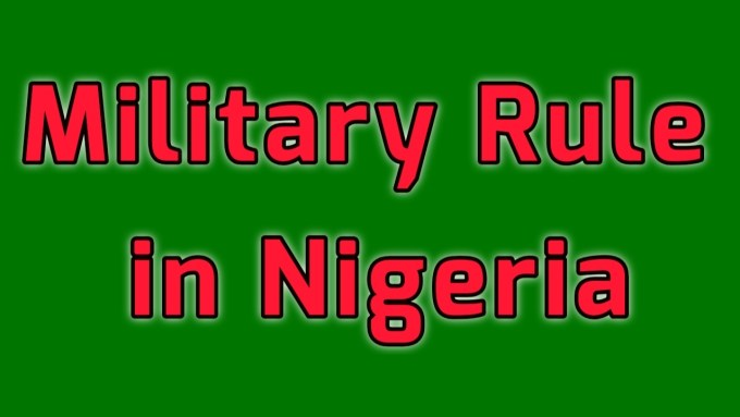 Characteristics of military rule in Nigeria