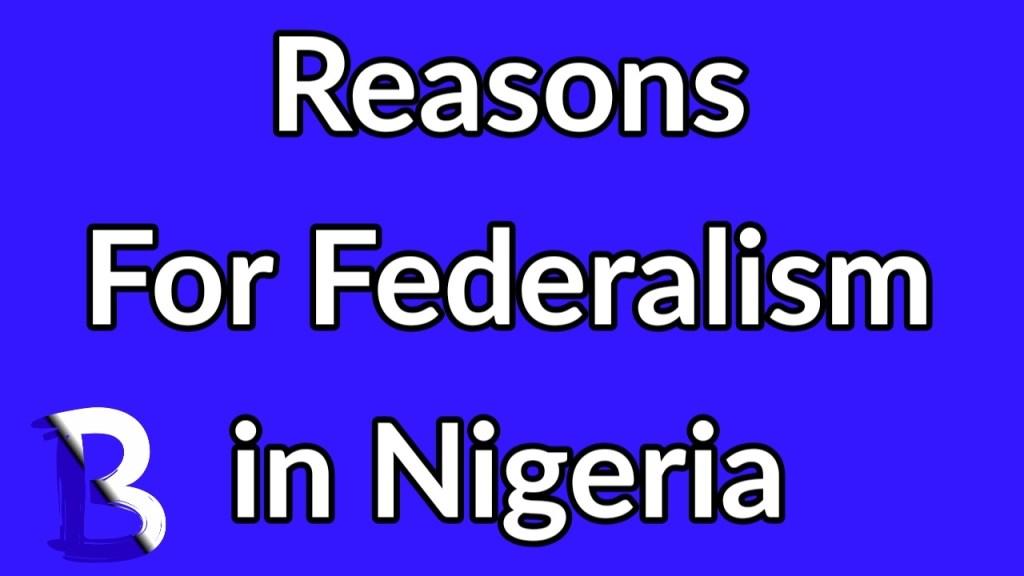 Problems of federalism in Nigeria