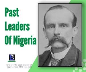 sir lord Lugard leadership of Nigeria in 1914