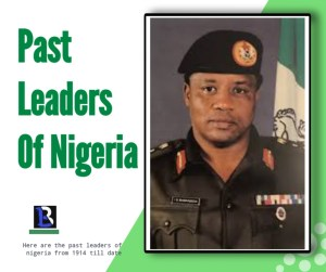 all the past presidents of Nigeria since 1960