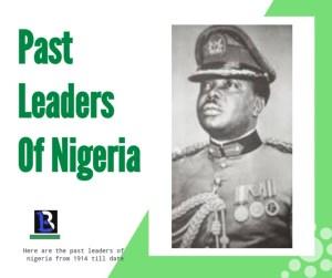 leaders of nigeria