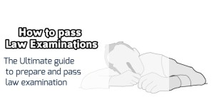tips to pass law examinations