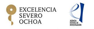 logos of Severo Ochoa Program and AEI