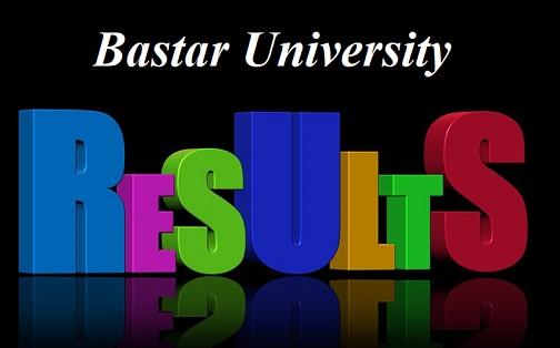 Bastar University Result 2021